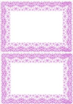 PRETTY PINK LACE A5 INSERT on Craftsuprint - Add To Basket!