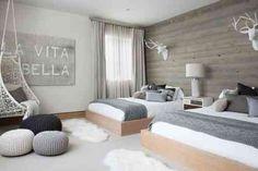 déco scandinave et ambiance cosy de chambre