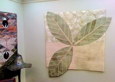 Fiesta Fibers - Living with Quilts: Leaf quilt