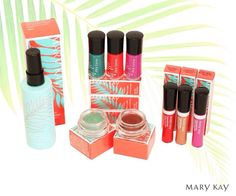 I'm ready for Spring! I love all these bright colors in the Limited Edition #ParadiseCalling collection! Call/Text 302-983-9112 or E-Mail me at brookeramsey@marykay.com. Find me on Facebook @ www.facebook.com/brookeashleyramsey **Cannot have a consultant. If you're looking for one I'd LOVE to assist you**