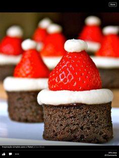 Mini Bolo Decorado de Natal Christmas Cake Bolo Natalino Feliz Natal