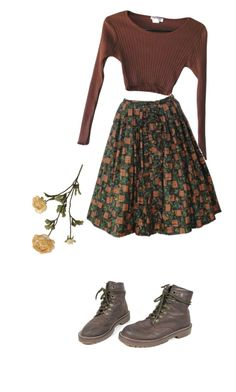 """he was my friend"" by youareso2000 ❤ liked on Polyvore featuring Dr. Martens"