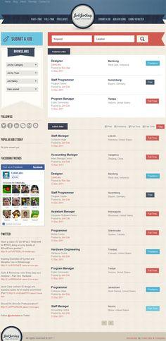 Job Jockey WordPress Theme by ColorLabs
