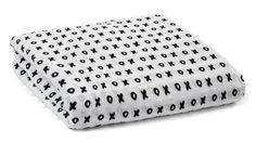 XOXO Organic Cotton Muslin Swaddle