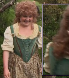 The Cup That Cheers: Production photo of female Hobbit for inspiration.