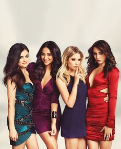 Four Little Liars in One Place...
