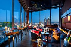 The Mandarin Bar is located on the Floor of the newly opened Mandarin Oriental Hotel in Las Vegas' City Center. Las Vegas Hotels, Las Vegas Nightlife, Mandarin Oriental, Nevada, Vegas Bars, Living Pool, Best Rooftop Bars, Web Design, Store Design