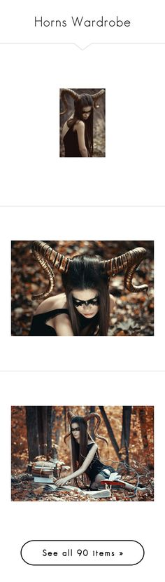 """""""Horns Wardrobe"""" by keyabx ❤ liked on Polyvore featuring people, pictures, backgrounds, image, photos, women, demons, fotos, stories and fantasy"""