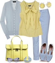 """""""Gingham Casual Style"""" by yasminasdream on Polyvore"""