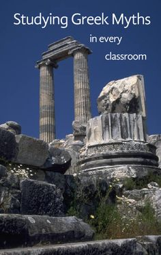 Studying Greek Myths in the Classroom by guest blogger Peggy James. #weareteachers