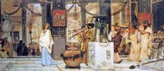 Lawrence Alma-Tadema Sculptors in Rome | The Vintage Festival (1887)