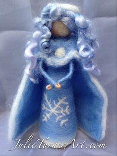 Winter Waldorf/Steiner Needle Felted Doll