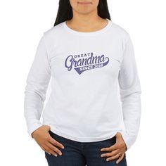 great grandma since 2016 Long Sleeve T-Shirt