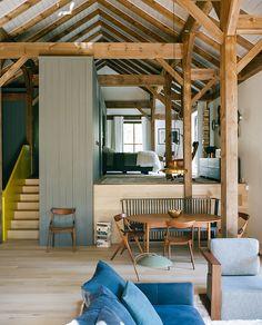 """BarlisWedlick architects - Une maison de style """"Néo Shaker"""" dans l'Hudson  im2"""