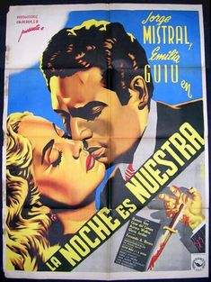 Mexican Movie Poster, Vintage