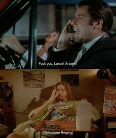 90s Movies, Movies Playing, Good Movies, Happy Gilmore Quotes, Film Pulp Fiction, Pulp Fiction Quotes, Film School, Movie Lines, The Best Films