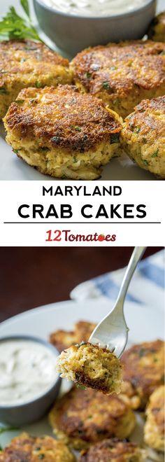 Maryland Crab Cakes & Tartar Sauce