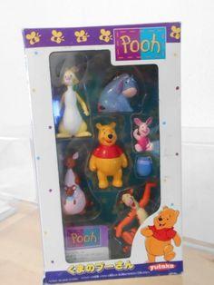 Walt Disney Winnie Pooh Winni Pu Yutaka Japan Exklusiv Set 1995 6 x Figur  | eBay