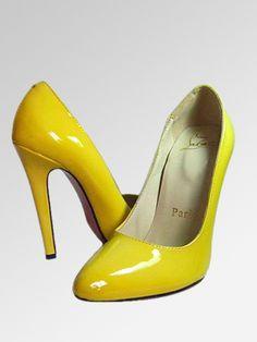 scarpe Gialle C.Louboutin