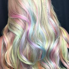 a great technique for pastel hair by Rebecca Taylor, love your work