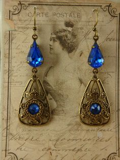 Minuet earrings by Ophelia's Adornments