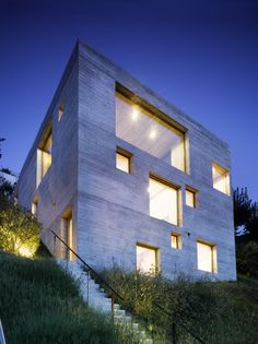 Nueva Casa de Concreto / Wespi de Meuron © Hannes Henz