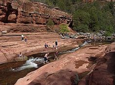 Slide Rock State Park In Sedona Arizona