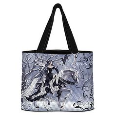 Nene Thomas Twilight Inspiration Quilted Tote Bag