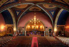 First Congregational Church - Detroit  Beautiful!
