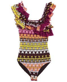 Woo...love this Missoni swimwear. Should I should I?
