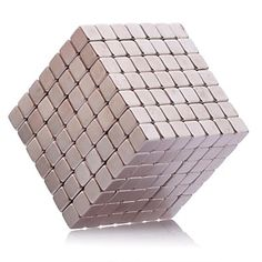 Brinquedos+Magnéticos+343Pcs+5mm+Brinquedos+Magnéticos+/+Ímã+de+Neodímio+Brinquedos+executivos+Puzzle+Cube+DIY+Brinquedos+Bolas+magnéticos+–+BRL+R$+66,89
