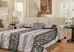 Milari Linen Queen Sofa Sleeper, /category/living-room/milari-linen-queen-sofa-sleeper.html