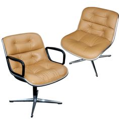 Already own: Pair Of Charles Pollock For Knoll Executive Side Chairs