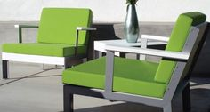 Modern Outdoor offers top notch designs for the modern patio. The Etra features many color combinations allowing you to design the look of your club chair. Outdoor Wicker Furniture, Modern Furniture, Furniture Design, Backyard Furniture, Contemporary Outdoor Chairs, Modern Patio, Sectional Furniture, Aluminum Patio, Club Chairs