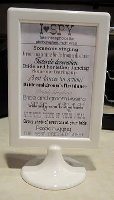 I Know My Calculus... :  wedding chicago decor diy seating Ispy ispy