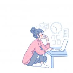 Computer Sketch, Computer Drawing, Cute Illustration, Character Illustration, Graphic Design Illustration, Cartoon Sketches, Cartoon Art, Cartoon Wallpaper, Illustrations