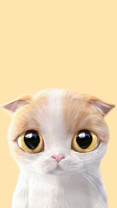 Pin by natasha parker on cat art Cat Phone Wallpaper, Cute Cat Wallpaper, Animal Wallpaper, Cartoon Wallpaper, Baby Cats, Cats And Kittens, I Love Cats, Cute Cats, Cat Drawing