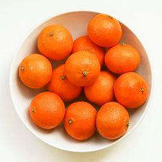 Orange Clementines in White Bowl by DesignbyRita on Etsy, $15.00