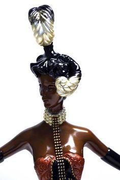 Erté - Sculpture - Statuette 'Cabaret'