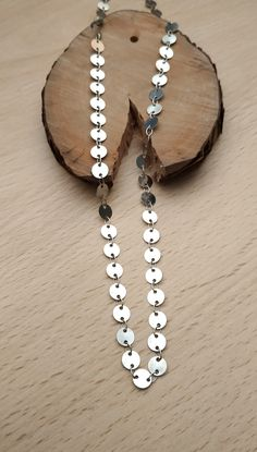 Necklace Long, Metal Circles!!! Il Tacco!!! Leather Sandals, Circles, Metal, Handmade, Accessories, Jewelry, Hand Made, Jewlery, Jewerly