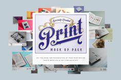 Free Print Mock Up Pack