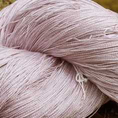 37 Hand Dyed Silk, Hand Dyed Yarn, Pale Pink, Jam Jar, 2/20 & 2/30 Silk Lace Weight Yarn by JaneStaffordTextiles on Etsy