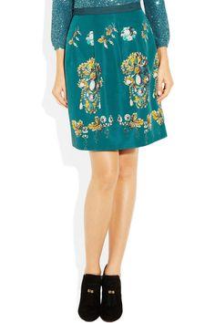 Oscar de la Renta: printed skirt