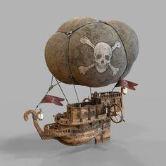 steampunk zeppelin - Google Search