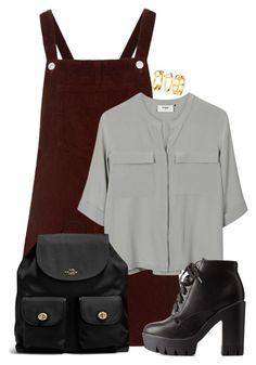 """""""Untitled #1044"""" by directioner-123-ii ❤ liked on Polyvore featuring Topshop, PYRUS, Charlotte Russe, Coach and H&M"""