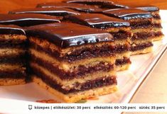 Hungarian Desserts, Hungarian Recipes, Sweet Desserts, Sweet Recipes, Dessert Recipes, Smoothie Fruit, Torte Cake, Sweet Cookies, Recipes From Heaven