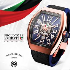 "Franck Muller Salutes the Spirit of the United Arab Emirates with the Introduction of the ""Proud to be Emirati"" Limited Edition Collection."