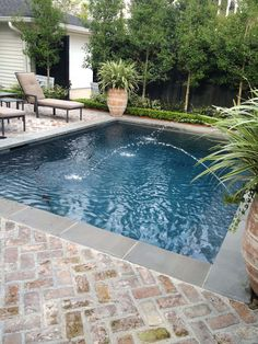 Amazing Swimming Pools, Small Swimming Pools, Small Pools, Swimming Pools Backyard, Swimming Pool Designs, Pool Landscaping, Lap Pools, Indoor Pools, Pools For Kids