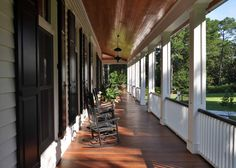 Front porches of days gone by
