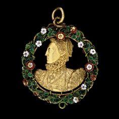 Queen Elizabeth's Phoenix Jewel, 1570's #Pendant #Antique #Bling